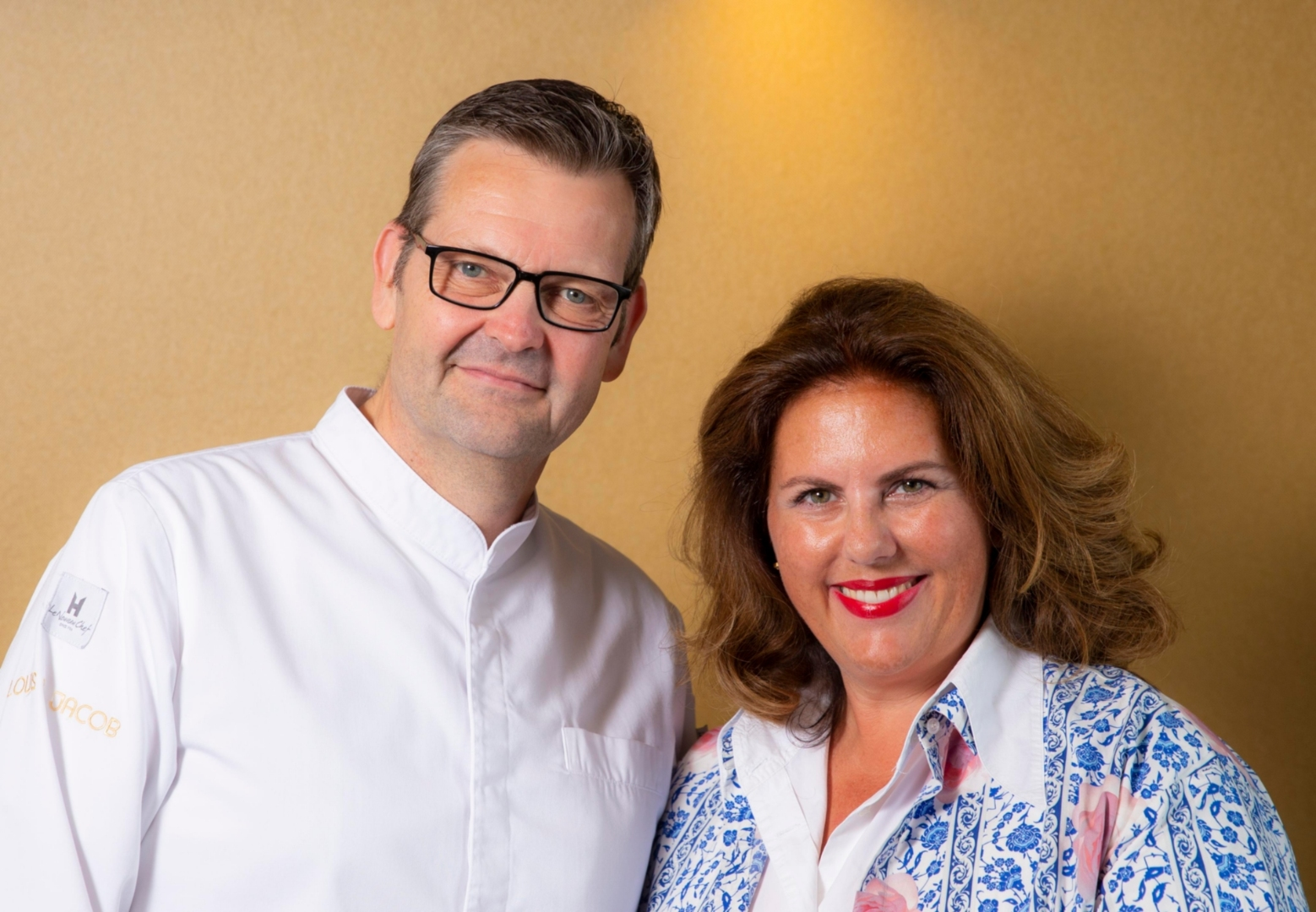 Sternekoch Thomas Martin und Vivian Hecker, Leiterin Marketing & Events des Hamburger Abendblattes. Fotocredit: © Roland Magunia, Hamburger Abendblatt, 2018